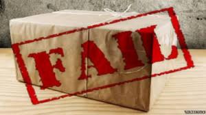 parcel fail